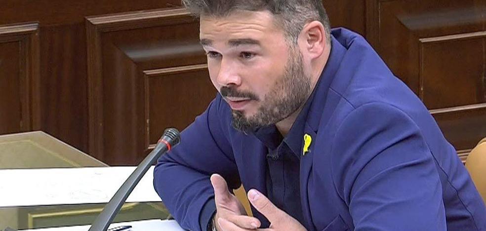 Podemos desmiente a Rufián: «Es falso que le ofreciésemos la cabeza de Borrell»