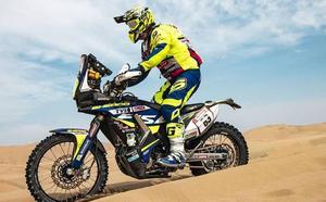 Santolino pasa con nota la primera gran criba del Dakar