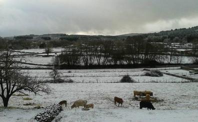 La localidad salmantina de Navasfrías registra una de las temperaturas más bajas del país