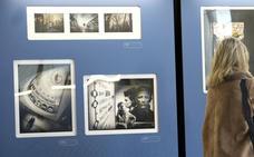 Exposición 'Caminos de Hierro, una mirada fotográfica al mundo del ferrocarril' en la estación Campo Grande de Valladolid