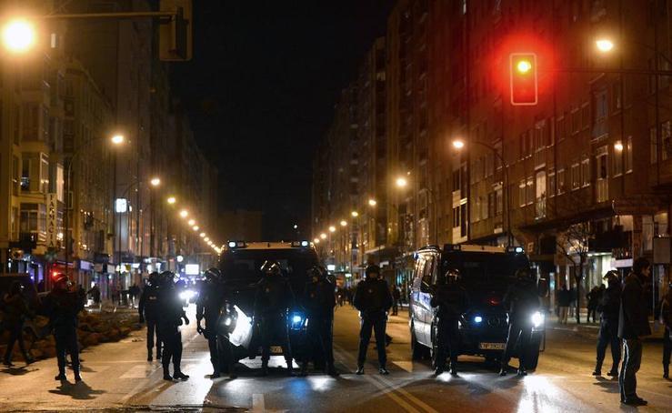 Imágenes de los disturbios de Gamonal ocurridos en enero de 2014