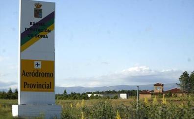 La Diputación de Soria licita las obras para contruir un pabellón en el aeródromo de Garray
