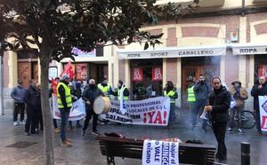 La Policía Municipal de Medina retoma las protestas tras las Navidad