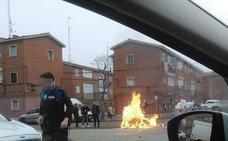Otro altercado obligó a la Policía Local a intervenir en el barrio vallisoletano de Las Viudas en Navidad