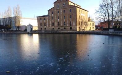 La ola de frío desploma los termómetros en Valladolid