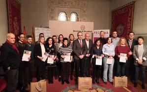 Premiados los mejores escaparates navideños de los pueblos de Valladolid