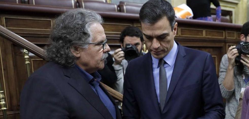 Sánchez busca seducir a Esquerra y PDeCAT con más inversión en Cataluña