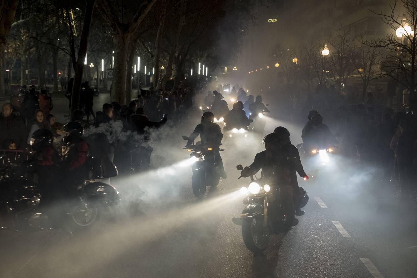 Desfile de antorchas por Valladolid
