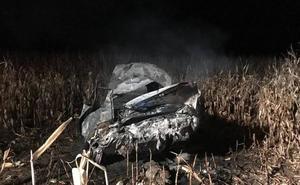 Herido un joven de 34 años en un accidente de tráfico en Valbuena de Duero