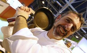 Pepe Solla elaborará su menú degustación con las alumnas de la Escuela Alcazarén