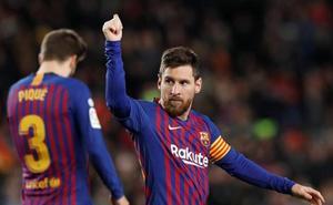 Messi alcanza los 400 goles en la Liga