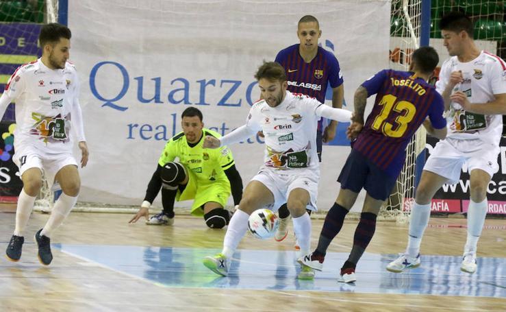 Derrota de Naturpellet Segovia ante el Barcelona (2-5)