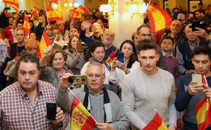 Acto de Vox en Segovia