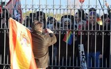 Vox exhibe músculo en Segovia entre las protestas antifascistas