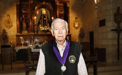 Fallece Abilio Calderón, el histórico presidente de la Cofradía de la Soledad de Palencia