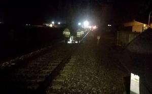 Descarrila un tren a la altura de Torrijos (Toledo) sin causar heridos