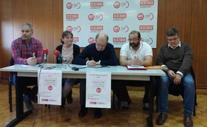 Sindicatos y partidos de izquierdas presentan en Ávila su Pacto Autonómico Fiscal