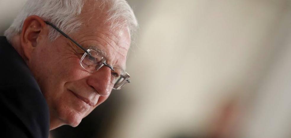 Borrell no descarta ya ser candidato a las europeas