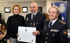 Celebración del aniversario de la Policía Nacional en Segovia
