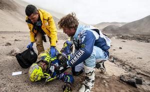 Lorenzo Santolino sigue en la UCI con seis costillas rotas y dos fisuras leves en vértebras