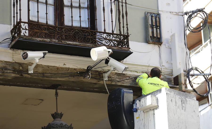 Instalan varias cámaras que multan por acceder en coche a las zonas peatonales de Palencia