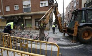 Comienzan las obras de mejora en tres calles de Garrido