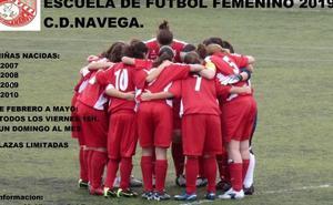 El CD Navega pone en marcha la primera escuela de fútbol femenino en Salamanca