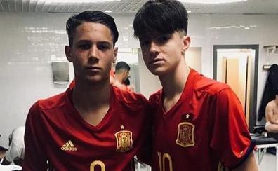 El salmantino Bruno Iglesias marca con la selección española sub-16 en Turquía