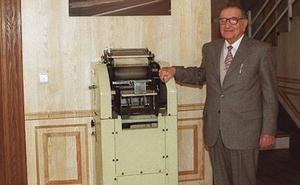 Fallece Daniel Benavides, fundador de la editorial Lex Nova, a los 97 años