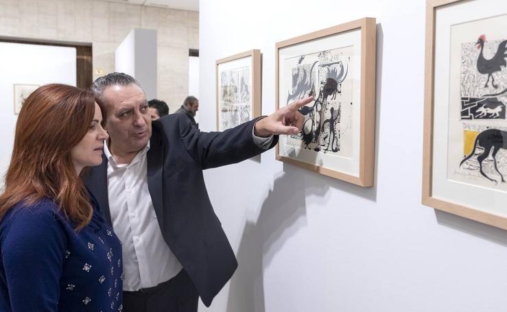 Las Cortes de Castilla y León acogen la exposición 'Memorias del fuego'