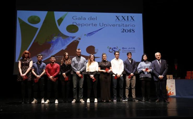 Gala del Deporte Universitario en Salamanca
