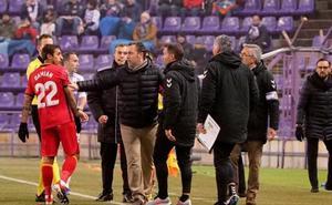 El Getafe despide al Valladolid con polémica