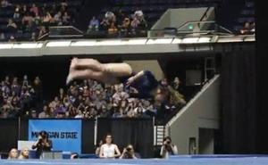 Así fue la actuación perfecta de la gimnasta Katelyn Ohashi
