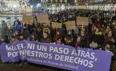 Valladolid sale a la calle contra el retroceso en los derechos de las mujeres