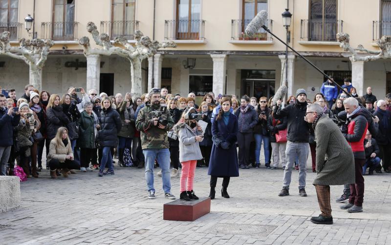 Televisión Española encuentra en Palencia su mejor plató