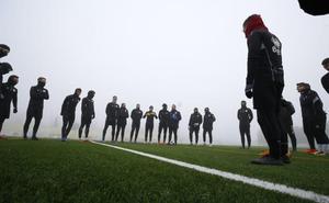 Unionistas prepara el duelo ante Las Palmas Atlético en el Reina Sofía con una intensa niebla