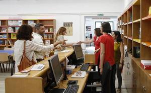 Bibliotecas con 1.700 usuarios diarios