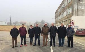 La Diputación renueva el acceso desde la A-62 tras 24 años sin actuar