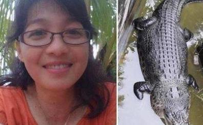 Un cocodrilo devora a una científica que le daba de comer en Indonesia
