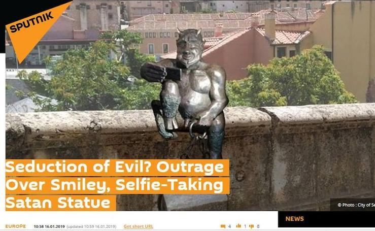 Noticias del diablillo de Segovia en medios del mundo