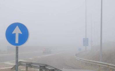 La niebla y el frío ponen en alerta a siete provincias de Castilla y León