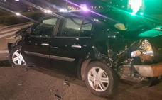 Un herido en una colisión entre un turismo y un camión en Valladolid