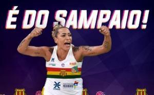 El Sampaio brasileño anuncia el fichaje de Erika de Souza, que se incorporará cuando acabe la Liga con el Avenida