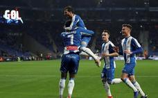 Borja Iglesias mete al Espanyol en cuartos