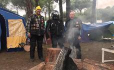 Los primeros Motauros ya acampan en Tordesillas