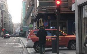 Un fuerte olor a plástico quemado moviliza a los bomberos de Valladolid
