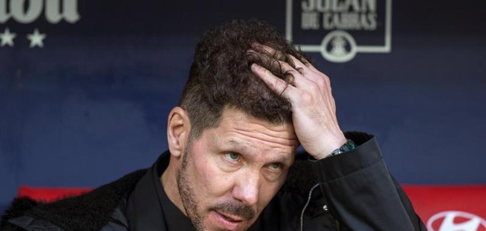 El Atlético lame sus heridas por el KO copero