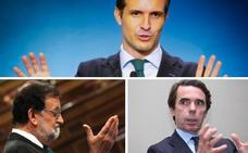 Los protagonistas de la convención programática del Partido Popular