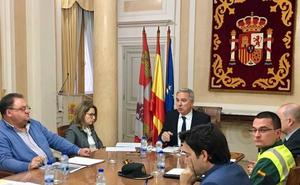 Protección Civil incluirá avisos a empresas de Palencia durante los temporales de nieve
