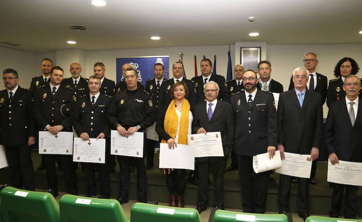 Celebración del 195 aniversario de la Policia Nacional